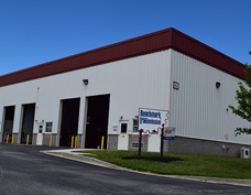 Picture of the Middletown shop of Benchmark Transmission